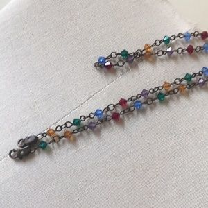 Jewelry - Crystal multi eyeglass chain necklace